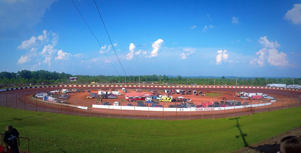 Rome Speedway BEAUTIFUL PHOTO