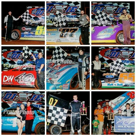 July 18 winners