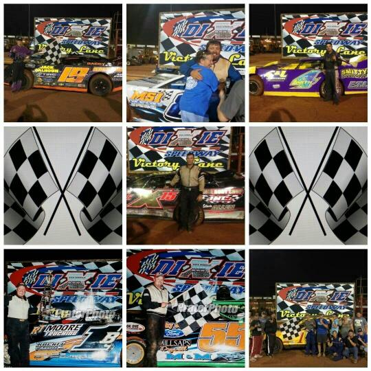 July 25 winners