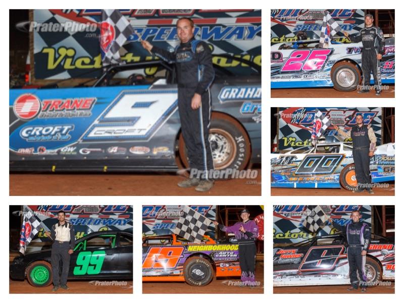 May 7 winners