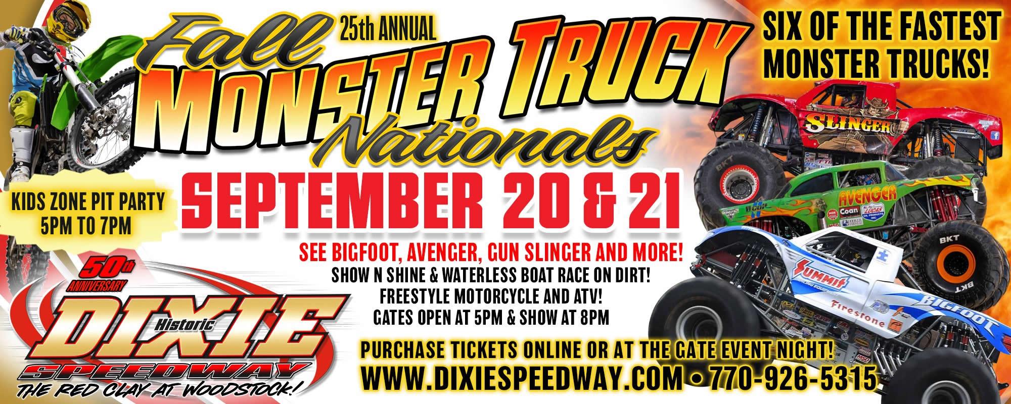 Schedule – Dixie Speedway